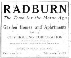 radburn plan wright ile ilgili görsel sonucu
